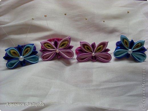 Вот такие заколочки,уже были такие цветы в розовом цвете делала. фото 4