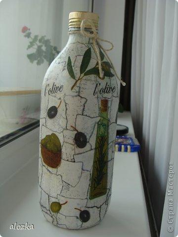 Всем доброго времени суток !!!Хочу вам показать какие баночка и бутылочка у меня получились , сама себя покритиковать не могу , так покритикуйте хоть вы !!!!!!!! фото 2