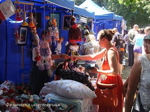 Продолжаем гулять по торговым рядам Фестиваля народного творчества.  фото 5