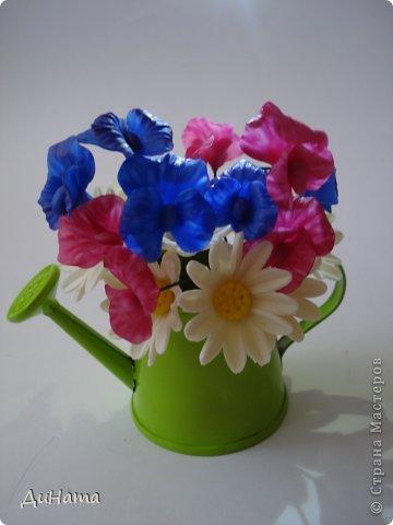 """кто-то """"подсел"""" на розы,а я на орхидеи,все пытаюсь слепить более натуральные,но получаются одинаковые,может это и есть """"почерк"""")))))) фото 12"""
