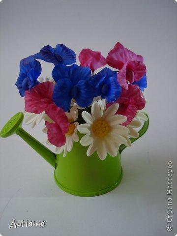 """кто-то """"подсел"""" на розы,а я на орхидеи,все пытаюсь слепить более натуральные,но получаются одинаковые,может это и есть """"почерк"""")))))) фото 13"""