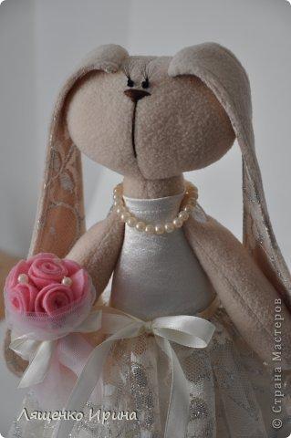 Свадебные зайки. фото 2