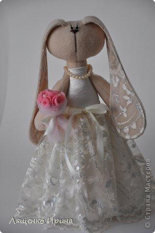 Свадебные зайки. фото 1