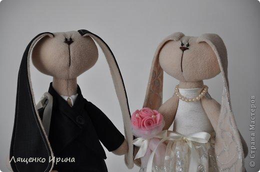 Свадебные зайки. фото 6