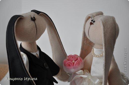 Свадебные зайки. фото 7