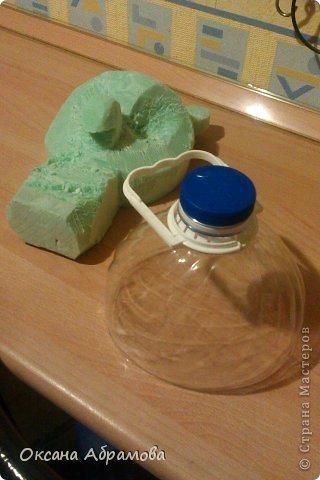 """Хочу познакомить Вас со своим изделием """"Филин"""", изготовлен из пластиковых бутылок. фото 19"""