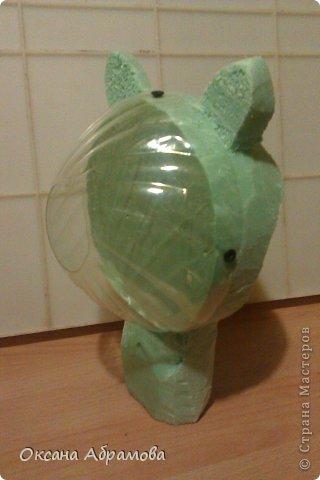 """Хочу познакомить Вас со своим изделием """"Филин"""", изготовлен из пластиковых бутылок. фото 20"""