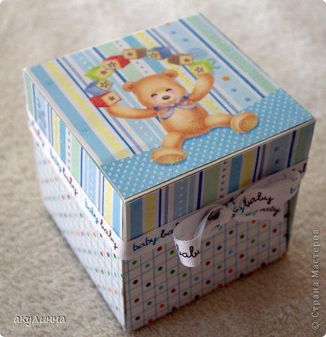 Подарочная коробочка для малыша