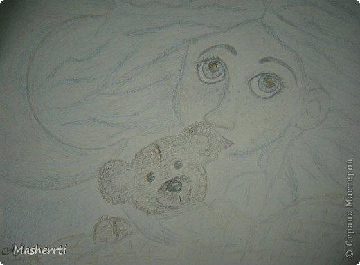 Знакомьтесь))) Это Мариса - мой внутренний ребенок... Появилась из неоткуда)) из Вселенной))   фото 2