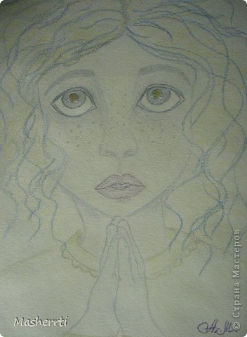 Знакомьтесь))) Это Мариса - мой внутренний ребенок... Появилась из неоткуда)) из Вселенной))   фото 1