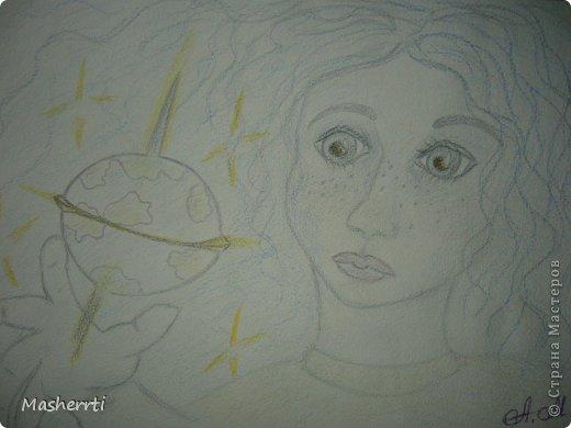 Знакомьтесь))) Это Мариса - мой внутренний ребенок... Появилась из неоткуда)) из Вселенной))   фото 4