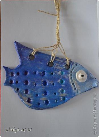Наконец-то я сделала своих рыбок. Большое спасибо всем Мастерицам, которые поделились секретом и успехом, создания рыбок из соленого теста. Мы с дочерью с удовольствием окунулись в этот процесс и вот что получилось. фото 5