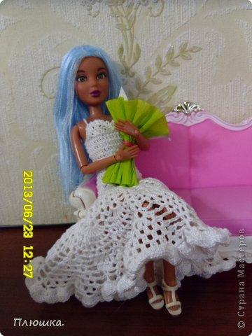 Здравствуйте Страна Мастеров! Хочу показать вам одежду для Леры (так зовут мою куколку).  №1.Купальник! А так же парео, пляжная сумочка и коврик (и если вы заметили, то у неё новый парик!) фото 10
