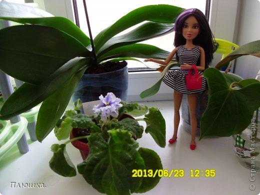 Здравствуйте Страна Мастеров! Хочу показать вам одежду для Леры (так зовут мою куколку).  №1.Купальник! А так же парео, пляжная сумочка и коврик (и если вы заметили, то у неё новый парик!) фото 13