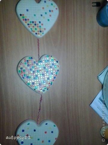 панношка из гипсовых сердечек фото 2