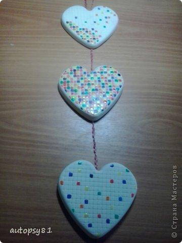 панношка из гипсовых сердечек фото 1