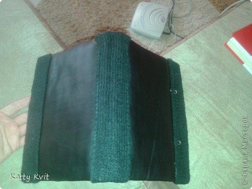 блокнот делаю первый раз, поэтому возникали трудности с  переплетом, но в конечном итоге - справилась :) размер А4 на пополам; переплет 120 листов. фото 3
