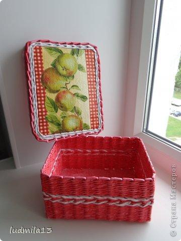 Добрый вечер, Страна! Вот решила выставить то, что накопилось за последнее время. коробочка с яблочками фото 2