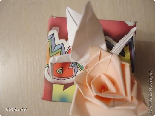 Вот мой дебют , это не журавлик а это коробочки . фото 2