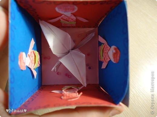 Вот мой дебют , это не журавлик а это коробочки . фото 6