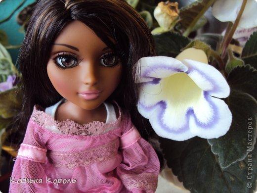 Всем привет!!! Вот сшила ( вручную ) спальный комплект для Виолетты. фото 18