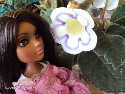 Всем привет!!! Вот сшила ( вручную ) спальный комплект для Виолетты. фото 19