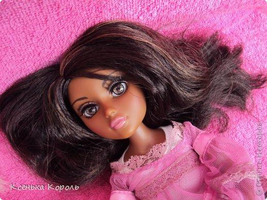 Всем привет!!! Вот сшила ( вручную ) спальный комплект для Виолетты. фото 20