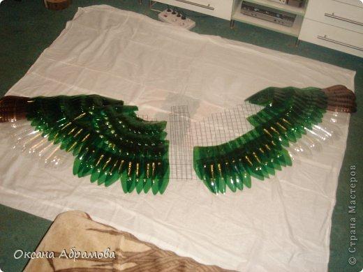 """Мое увлечение изделиями из пластиковых бутылок началось с пальм. Я случайно увидела МК и решила повторить. Вот так выглядит мой """"Пальмовый рай"""". фото 16"""