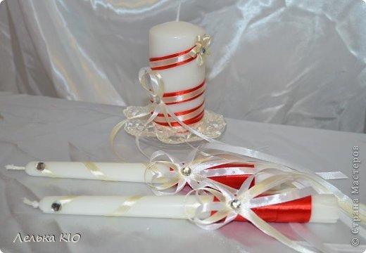 Девочки, давно не заходила!!! Очень мало времени-весь июнь в организациях свадеб!! Заказали красную свадьбу, к ней вот сделала эти аксессуары!! Встречайте!!)) фото 5