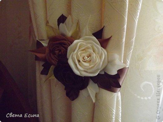 Вот так я украсила свои шторы.... фото 2