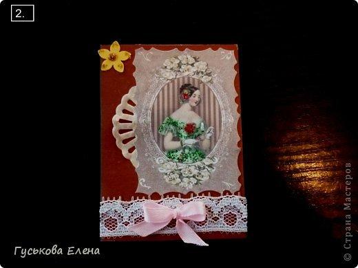 Серия создана с использованием:распечатка дам...кружева(кстати подарочные)....ленточки (подарочные)....научилась завязывать бантики на вилке!!!!!....салфетки немного тонированные.....дырокольные цветы,серединка у них-глиттер....бумажные кружева(подарочки).Сначала выбирают кредиторы!!!!!!!!!!!!!!!!!!! фото 3