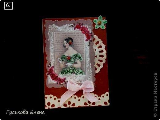 Серия создана с использованием:распечатка дам...кружева(кстати подарочные)....ленточки (подарочные)....научилась завязывать бантики на вилке!!!!!....салфетки немного тонированные.....дырокольные цветы,серединка у них-глиттер....бумажные кружева(подарочки).Сначала выбирают кредиторы!!!!!!!!!!!!!!!!!!! фото 7
