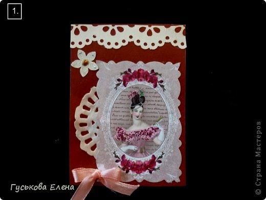 Серия создана с использованием:распечатка дам...кружева(кстати подарочные)....ленточки (подарочные)....научилась завязывать бантики на вилке!!!!!....салфетки немного тонированные.....дырокольные цветы,серединка у них-глиттер....бумажные кружева(подарочки).Сначала выбирают кредиторы!!!!!!!!!!!!!!!!!!! фото 2