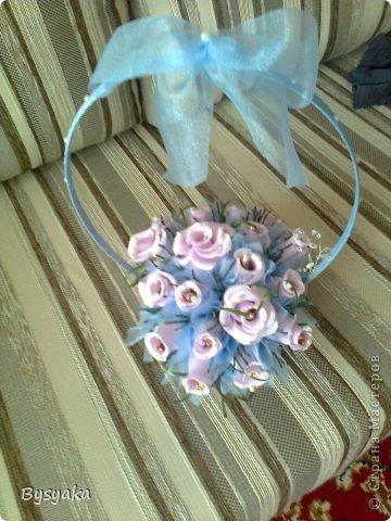 Розы в голубом тоне фото 5