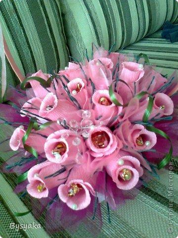 розовая корзиночка фото 2