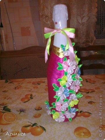 Вот такую бутылочку сделала в подарок сестре мужа фото 1