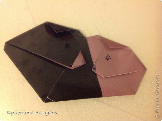 Привет! Хочу показать как сделать милую парочку медведей) http://origami-handmade.ru/wp-content/uploads/2012/04/2bear.png  фото 1