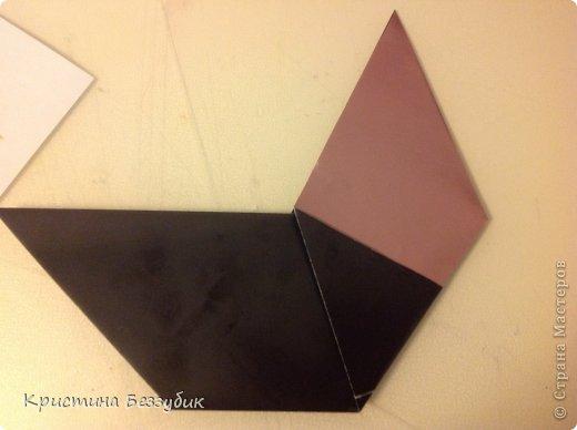 Привет! Хочу показать как сделать милую парочку медведей) http://origami-handmade.ru/wp-content/uploads/2012/04/2bear.png  фото 7