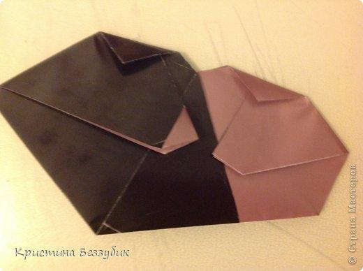 Привет! Хочу показать как сделать милую парочку медведей) http://origami-handmade.ru/wp-content/uploads/2012/04/2bear.png  фото 14