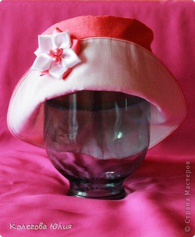 Второе платьице и первая шляпка!! Только что из печки))))))) фото 4