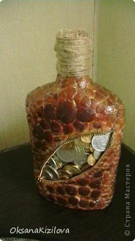 Бутылка сделана на день рождения другу. фото 5