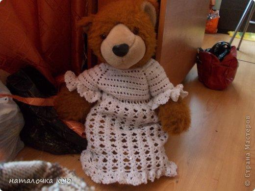 первый раз вязала платье на малышку кажется получилось! фото 3