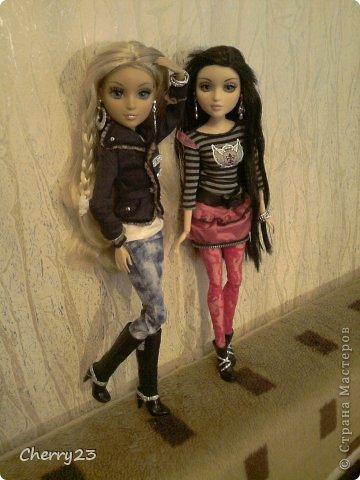 Мои девчонки познакомились, когда Диона приехала в Россию. Бедняжку ограбили и ей некуда было идти. Камилла с радостью предложила ей пожить у нас) теперь Камилла и Диона лучшие подружки) фото 1