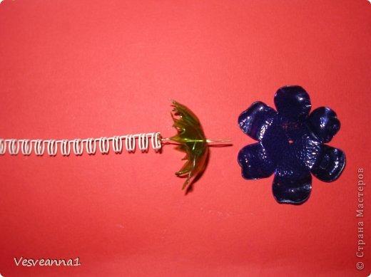 Мастер-класс Вырезание Веселые цветочки  для сына и для дочки Бутылки пластиковые фото 5