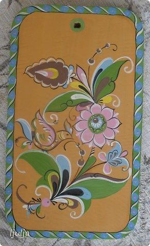 Великоустюгская роспись. Моя работа.  фото 2