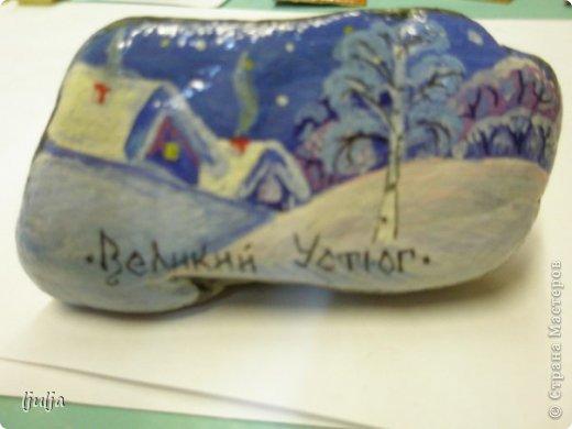 Роспись по камню фото 3