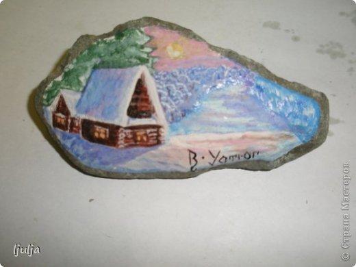 Роспись по камню фото 1