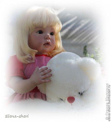 Кукла-реборн Лиза  фото 6