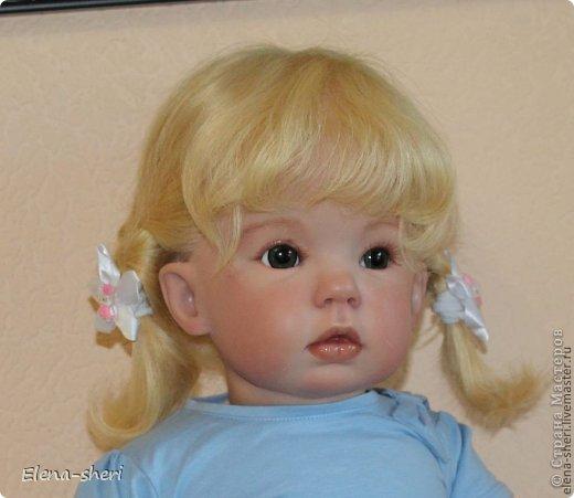 Кукла-реборн Лиза  фото 5