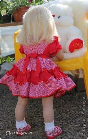 Кукла-реборн Лиза  фото 4